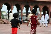 Çocuklar new Delhi, Hindistan — Stok fotoğraf