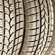 Foto Stock: Car tires