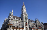 New Town Hall (Neues Rathaus) in Munich — Stock Photo