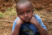 Rwanda boy — Stock Photo
