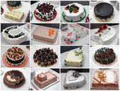 Wedding cakes — Stock Photo