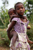 Rwanda kids — Stock Photo