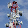 Stock Photo: Communication antenna
