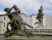 Fontana delle Naiadi in Rome, Italy — Stock Photo