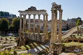Roman Forum in Rome, Italy — Stock Photo