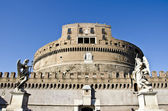 Castel Sant'Angelo in Rome, Italy — Stock Photo