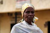 Rwanda woman — Stock Photo