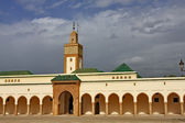 Royal palace in Rabat, Morocco — Stock Photo