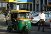 Auto rickshaw in New Delhi, India — Stock Photo
