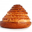Cake in shape of pyramid isolated - Lizenzfreies Foto