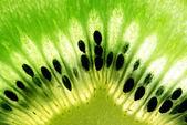 Makrofoto der kiwi-frucht — Stockfoto