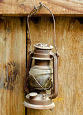 Antique lantern — Stock Photo