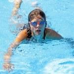 Swim girl — Stock Photo