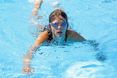 Swim girl — Stockfoto