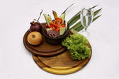 Vegetable meal — Stockfoto