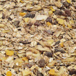 Pile of muesli — Stock Photo