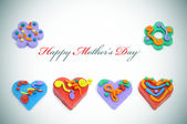 Glad mors dag — Stockfoto