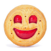 Biscoito de smiley — Fotografia Stock