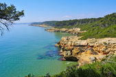 Tarragona coast, Spain — Stock Photo