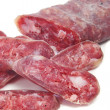 Fuet, spanish salami — Stock Photo