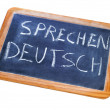 Stock Photo: Sprechen deutsch, germis spoken