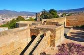 Gibralfaro castle в малаге, испания — Стоковое фото