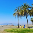 El Palo Beach in Malaga, Spain — Stock Photo