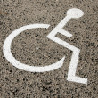 Stock Photo: Disabled parking permit