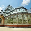 Palacio de Cristal, Madrid — Stock Photo