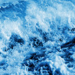 Seawater splashing - Stock Photo