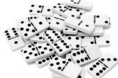 Domino pieces — Stock Photo