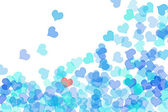 Blue Hearts — Stockfoto