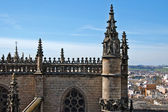 Seville Cathedral — Foto de Stock
