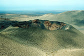 Timanfaya volcano — Stock Photo