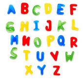 Alfabeto de jalea — Foto de Stock