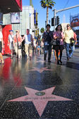 Hollywood Walk of Fame in Hollywood Boulevard, Los Angeles, Unit — Stock Photo