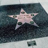 Hollywood Walk of Fame, Los Angeles, United States — Stock Photo