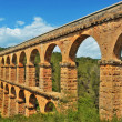 Roman Aqueduct Pont del Diable in Tarragona, Spain — Stock Photo #10490812