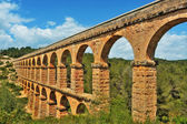 Roman Aqueduct Pont del Diable in Tarragona, Spain — Stock Photo