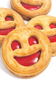 Biscoitos de smiley — Fotografia Stock