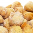 Frozen cod fritters - Stock Photo
