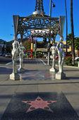 The Four Ladies of Hollywood gazebo, Los Angeles, United States — Stock Photo