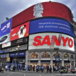 Piccadilly Circus, London, United Kingdom — Stock Photo