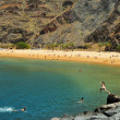 Teresitas Beach in Tenerife, Canary Islands, Spain - Foto Stock