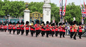 Foot Guards in London, United Kingdom — Stock Photo