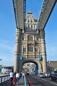 Tower Bridge in London, United Kingdom — Stock Photo