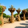 Park Guell, Barcelona, Spain — Stock Photo