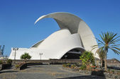 Auditorio de Tenerife, Santa Cruz de Tenerife, Canary Islands, S — Stock Photo