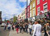 Camden Street in London, United Kingdom — Stock Photo