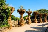 Park Guell, Barcelona, Spain — Stock Photo